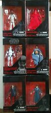 Star Wars Black Series 3.75 Lot of 6 Action Figures - Royal Guard - Stormtrooper