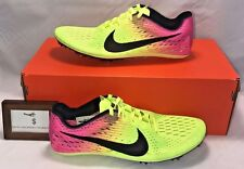 NIKE MENS SIZE 8.5 VICTORY 3 RIO OLYMPICS TRACK & FIELD SHOES + SPIKES RARE NEW