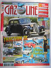GAZOLINE N° 218 /TRACTION 7A/ PANHARD SCARLETTE/ ARC MF16/ ALFA 1750/FIAT NUOVA