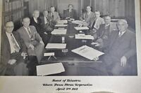Vintage 1953 Clover Farms Stores Company Board of Directors Photograph