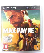 MAX PAYNE 3  Gioco e Manuale in Italiano PS3 Sony Playstation