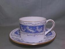 Coalport Revelry Bone China Tea or Coffee Cup & Saucer (Blue)