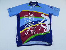Mens Pactimo 2008 Courage Classic Children's Hospital Bike Cycling Jersey Sz L