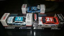 Lot Of 3 Nascar Diecast Ford Fusions From 2016 and 17
