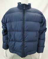 Vintage Cabela's Men's Premium Northern Down Puffer Jacket Blue XL