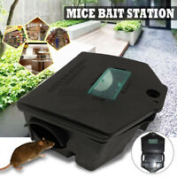Rat Mouse Mice Killer Poison Block Rodent Bait Station Box Pest Trap UK