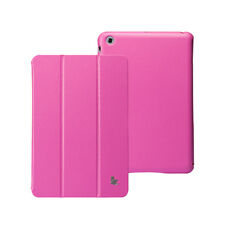Jisoncase Lastest Pink Micro Fiber Case Cover W/O Seams For Apple New mini iPad