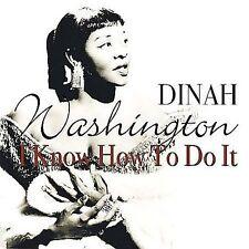 New Dinah Washington I Know How to Do It  CD Jun 2002 Fabulous USA Sealed