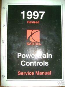 1997 Saturn Powertrain Controls Service Manual