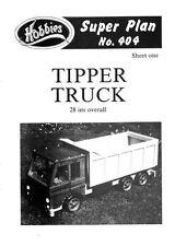 Hobbies planes para hacer un fantástico Juguete Volcador Truck p404