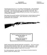 gun manuals for remington for sale ebay