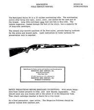 Remington Field Service Manual Model Nylon 66 Gunsmith