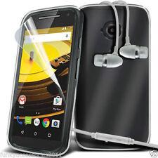Étuis, housses et coques avec clip transparents Motorola Moto E pour téléphone mobile et assistant personnel (PDA)