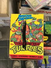 TEENAGE MUTANT NINJA TURTLES CARTOON SERIES 2 48 PACK STICKERS CARD BOX