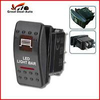 RED LED LIGHT BAR ROCKER SWITCH ARB CARLING 12V 24V ON OFF WATERPROOF 5 pins