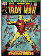 IRONMAN COMIC BOOK COVER GIANT WALL DECAL