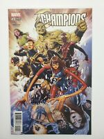 Champions (2016 Marvel) #1 Mark Brooks Incentive Variant! 1st Team Appearance