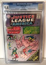 JUSTICE LEAGUE OF AMERICA #37 - CGC 9.4 - JUSTICE SOCIETY XOVER - WHITE PAGES