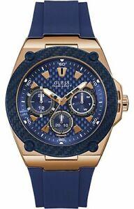 Guess - W1049G2 W1049G2, Legacy STEEL 316 L Blue analog quartz Watch