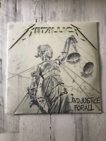 Metallica And Justice For All Sealed Vinyl Record LP 2008 Reissue