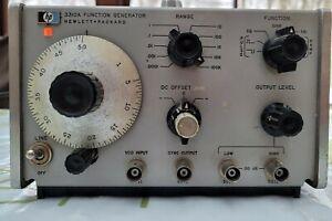 Générateur de fontion Hewlett Packard 3310A Vintage