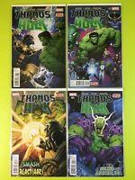 THANOS VS HULK #1 2 3 4 Immortal Versus Infinity War Marvel NM 9.4