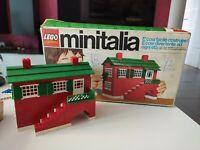 Lego Minitalia n.4 Casa Villa Vintage Completa Con Box