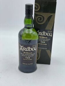 1 bouteille  ardbeg rhe ultimate islay single malt  non chill filtered  70cl
