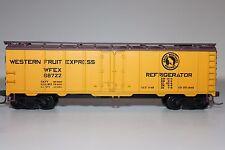 HO Scale Train Miniatures Western Fruit Express 40' Plug Door Reefer 68722 Y1510
