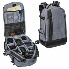 Kamera Foto Rucksack Tasche mit viel Platz für Kamera und Zubehör, Regenschutz
