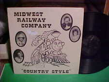 THE MIDWEST RAILWAY COMPANY LP COUNTRY STYLE PRIVATE LABEL RECORD VINYL