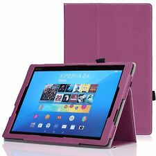 Slim Smart Folding Cover Case for Sony Xperia Z4 Tablet 10.1 inch 2015 Rel
