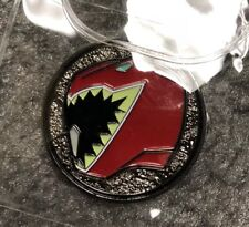 Power Rangers Dino Charge Red Ranger Black Coin (Power Morphicon Exclusive)