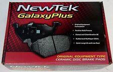 NewTek PCD482 Disc Brake Pad Galaxy Plus Premium Ceramic Disc Pads Rear