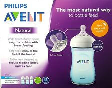 - New - Philips Avent Natural Bottle 3pk - 9oz (Boy)