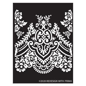 """ReDesign Decor Stencil ELEGANT LACE Home Decor 9 x 13.5""""  #652685"""