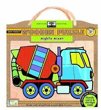 Green Start Wooden Puzzles: Mighty Mixer - Earth Friendly Puzzles with Handy Ca