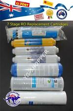 7 Stages Reverse Osmosis Water Filters Cartridges + 50 GPD RO Membrane Filter