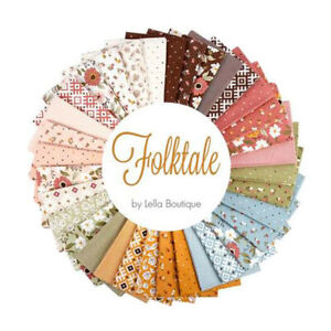 Moda Quilting Charm Pack Patchwork Folktale 5 Inch Sewing Fabrics