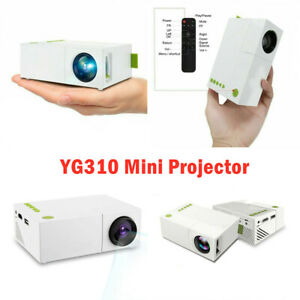 YG310 Mini Projector 1080P LCD LED Projection Audio AV Home Theater Projector