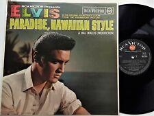 Elvis Presley - Paradise, Hawaiian Style LP 1966 1st UK  RCA Victor Red Spot EX