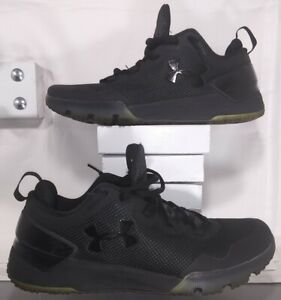 Under Armour Charged Ultimate Iced Tonal Training, Black, 1284603-001, Size 11