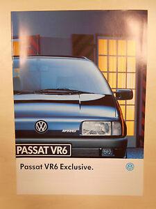 Catalogue VOLKSWAGEN PASSAT VR6 EXCLUSIVE