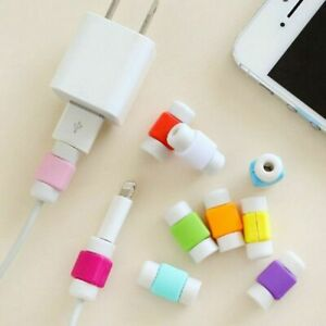 10Pcs Protective Charging Charger Cable Protector Cord Saver for Universal