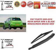 FIAT PUNTO 2005-2018  3/5D REAR WIPER ARM & BLADE WINDSCREEN BRAND NEW
