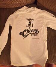 Boston Cheers Bull & Finch Pub Long Sleeved 100% Cotton Small Adult Tee Shirt
