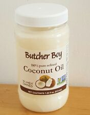 1x Butcher Boy Coconut Oil 100% Pure Refined Non-GMO Non-Hydrogenated 7.25 oz