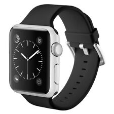 Apple Watch Band 42mm,Soft Silicone Replacement Sport Strap with Buckle Clasp