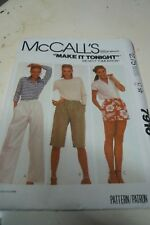 Sewing pattern by McCall's 7916 size Small part cut Misses and young junior