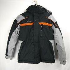 COLUMBIA Zip Up Ski Jacket Removable Hood Kids Youth Size 14/16